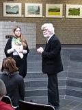Joseph Schräder, Vanessa Charlotte Heitland und Anastasiya Nesterova