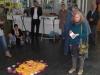 Astrid Schütze begrüsst vom Kulturverein Borgholzhausen