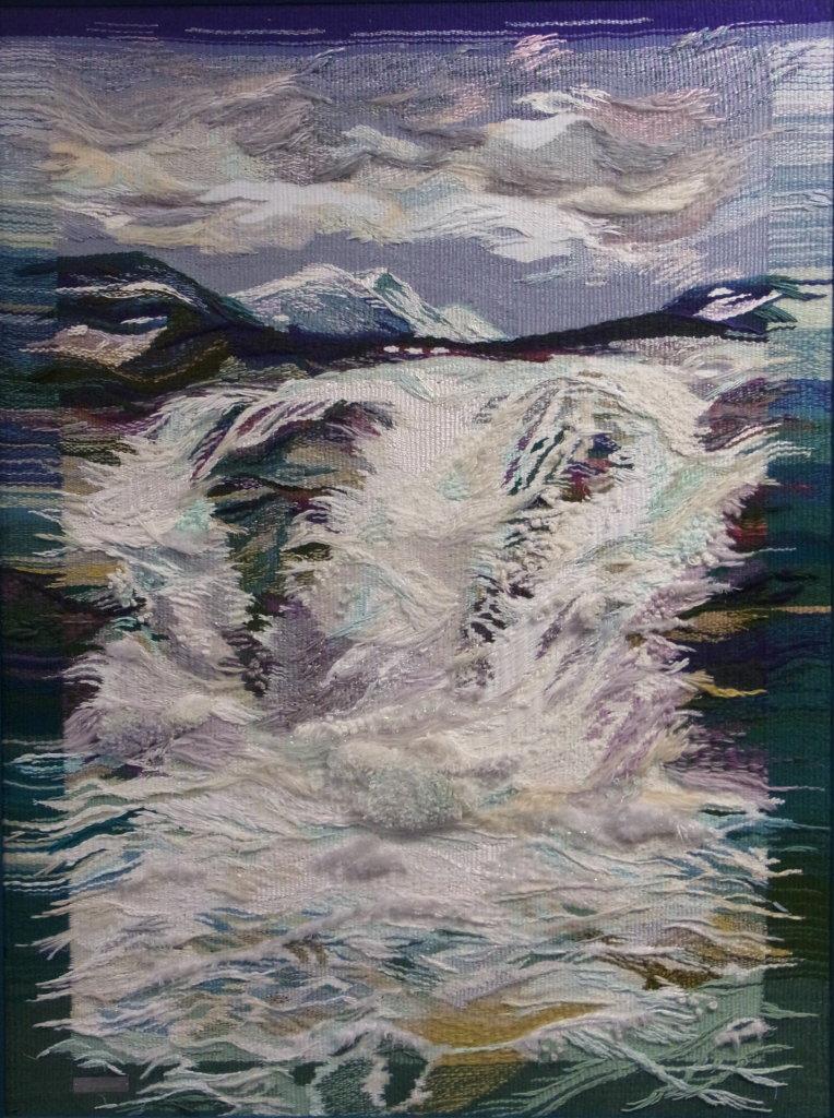 """""""Norwegischer Wasserfall"""" (Gobelin 87 x 110 cm)"""