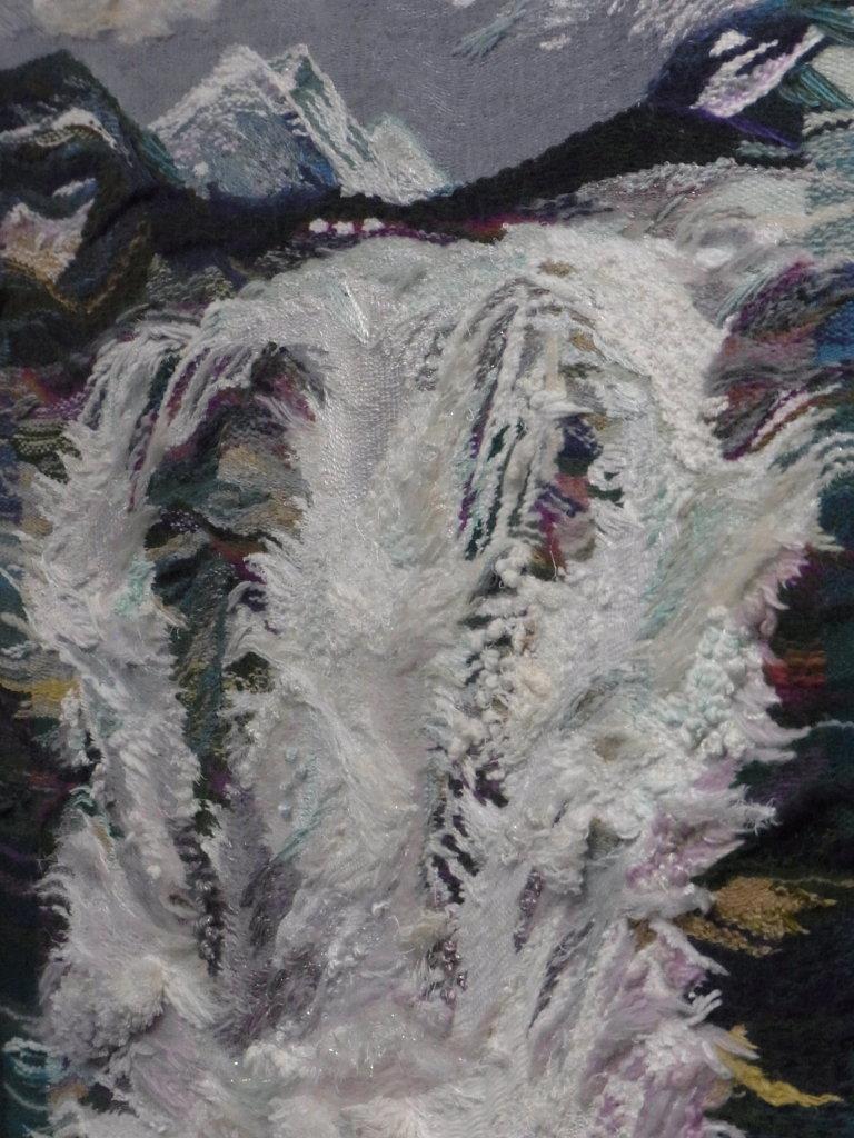 "Auschnitt I aus ""Norwegischer Wasserfall"""