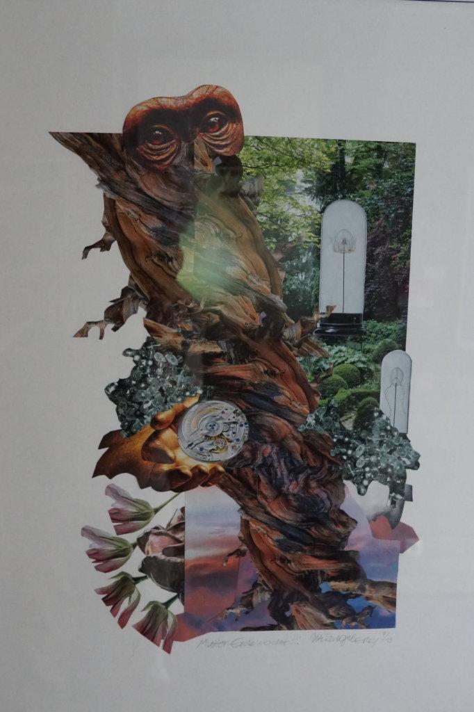 """""""Muter Erde erwacht"""" (Collage 50 x 70 cm)"""