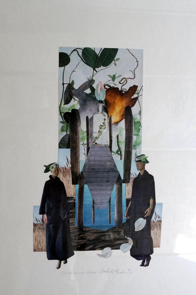 """Die Hüter dr Natur"" (Collage 50 x 70 cm)"