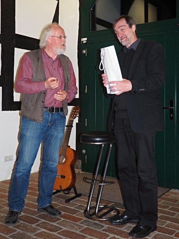 Manfred Warias und Burkhard Engel