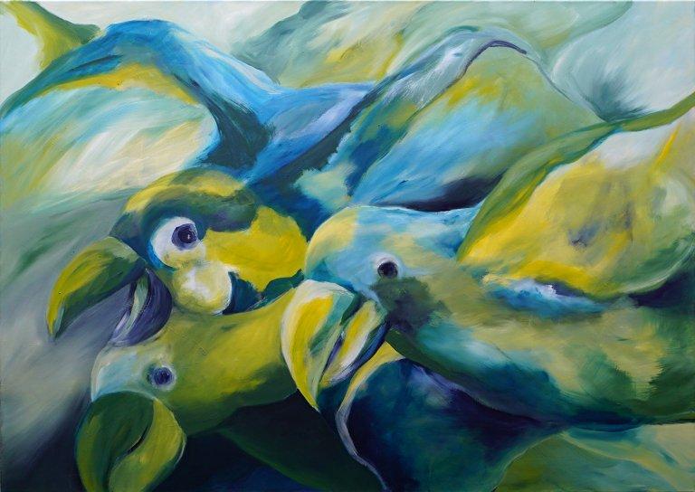 Aufbruch: Die Vögel
