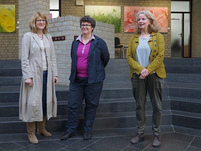 von links: Doris Papenbreer, Chrisitane Hoffmann, Astrid Schütze