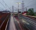 Bahnhof - Acryl