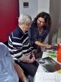 Anke Wienke hilft beim Lösen des Bilderrätsels