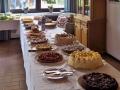 Großes Kuchenbuffet
