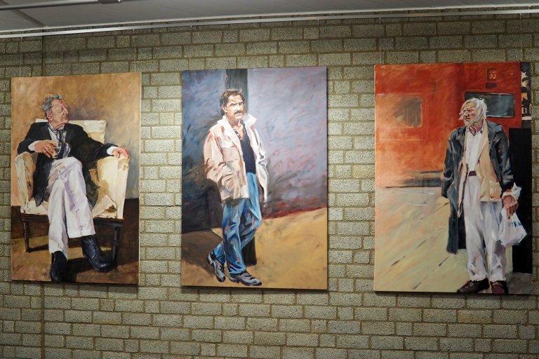 Ganzkörperportraits (Busstop, Schimanski und Lucian Freud)