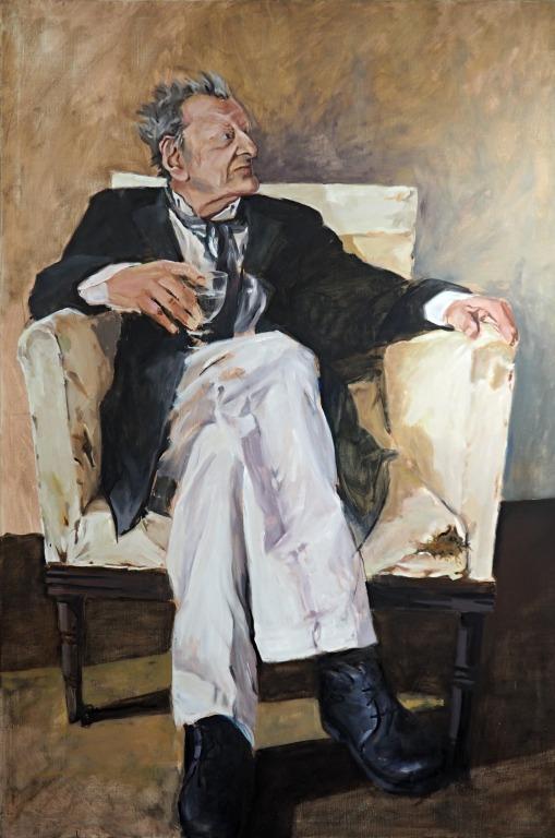 Lucian Freud - 150 x 100 Öl auf Leinwand 2016