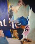 BRIGITTE - 100 x 80 Öl auf Leinwand 2011