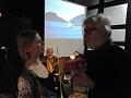 Angelika Nielsen unterhält sich mit Joseph Schräder