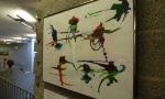Gertrud Hoppen - Abstrakte Aquarellmalerei, entstanden in der Sommerakademie bei Michaela Berning-Tournier