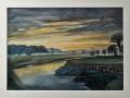 Fritz Lüker - In der Frühe vor Sonnenaufgang