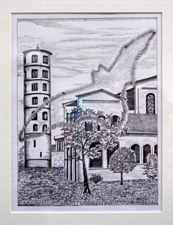 Siegfried Alexander Scholz - San Apollinare in Classe bei Ravenna