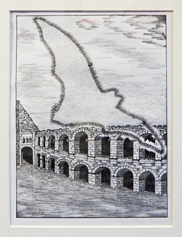 Siegfried Alexander Scholz - Verona: Die antike Arena