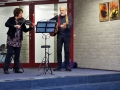 Barbara Lequis (Violine) und Rainer Bähr-Lequis (Gitarre)