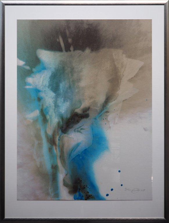 Otto Piene - Wetter - 2014 - Siebdruck auf Papier