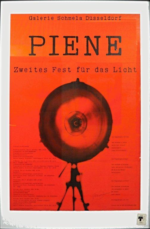 Plakat - Zweites Fest für das Licht 1966