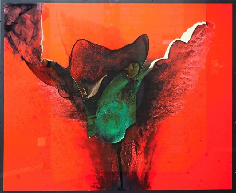 Otto Piene - ohne Titel - 1990 - Siebdruck