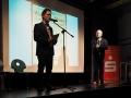PAB-Lehrer Peter Schumacher und Moderator Marc Schuster