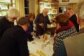 Pause: Stärkung mit georgischem und französischem Wein