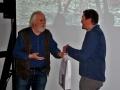 Manfred Warias dankt Urlich Fälker