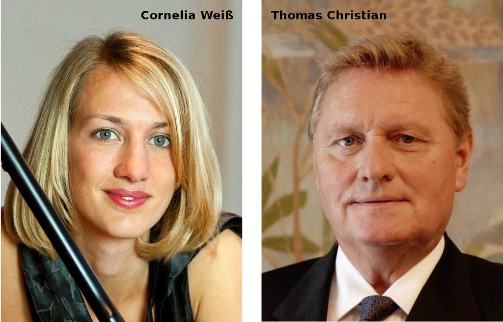 Cornelia Weiß und Thomas Christian