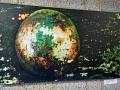 Kulturverein Borgholzhausen: Annelie Schreiner - Poesie des Verfalls - Der grüne Planet - 80x46