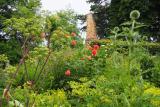 Burggarten mit Ruine