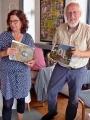 Das Bilderrätsel wird von Anke Wienke und Manfred Warias erklärt