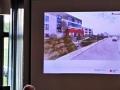 Ein Vortrag über den Neubau vor neben dem jetzigen DRK-Haus