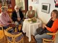 Mitglieder des Kulturvereins (Elfriede Schildmann, Joseph Schräder, Detlev Reuter und Karin Warias - von links)