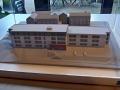 Der Neubau des Pflegeheims als Modell