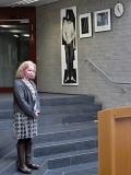 Astrid Schütze, Vorsitzende des Kulturvereins