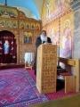 Bischof Anba Damian spricht über den Bischofssitz hier in Brenkhausen