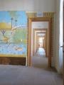 Ausstellungsräume mit Nachbidungen altägyptischer Motive