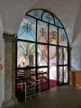 Tür zur Kapelle des Koptischen Klosters