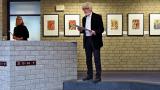 Job Schräder (stellvertetender Vorsitzender des Kulturvereins) hat durch seine besonderen Verbindungen diese Ausstellung erst möglich gemacht