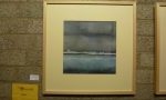 Wolfgang Blockus - Wie in seinen in Öl gemalten Wasserbildern thematisiert Wolfgang Blockus den Ewigkeitsgedanken der menschenleeren Natur - 250€ inkl. Rahmen