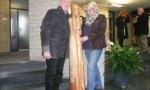 """Arnold Wessling, die Skulptur """"der Lauscher"""" und die Bildhauerin Elfriede Schildmann"""