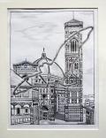 Siegfried Alexander Scholz - Florenz: Baptisterium und Dom