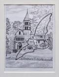 Siegfried Alexander Scholz - Borgholzhausen: Kapelle am Wasserschloss Brinke
