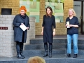 Beate Freier-Bongaertz , Saskia Averdiek und Astrid Schütze (von links)