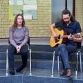 Nadine Langenbach und Marc Plitzner mit musikalischem Beitrag