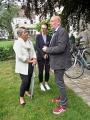 Birgit Schröter, Jane Duda und Veit Mette