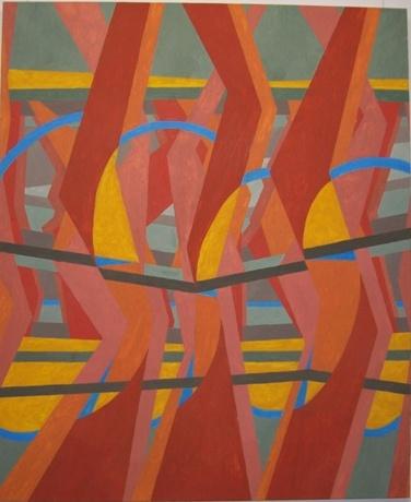 """""""CALYPSONIANS"""" Öl auf Leinwand 2012"""