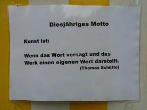Motto der Sommerakademie